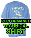 No-Snag tech Fabric, Cooling Performance Crew